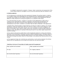 Marketing Agreement Template New Sales Contract Agreement Sample