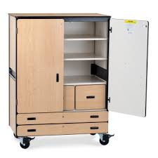 storage cabinet with doors and drawers. Mobile Storage Cabinet With Two Shelves, File Drawers, Paper  And One Coat Rod Whether You Need A Place To HangDiscover It Storage Cabinet With Doors And Drawers