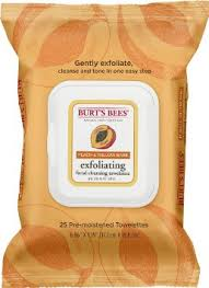 burts bees exfoliating cleansing towelettes review summer essentials 2016 2016 best makeup