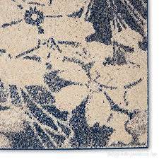 1 pc eclectic tranquil abstract 5x7 area rug all seasons bohemian charming fl persian kashan bordered medallion blue rug ivory