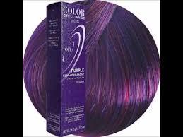 Ion Color Brilliance Semi Permanent Color Chart Punctual Ion Plum Hair Dye Ion Color Brilliance Demi