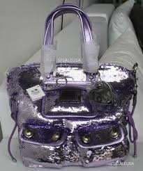 COACH Sequin Spotlight POPPY Bag Purse 13821 NWT  HOT  Lilac   Lt. Purple  THE ONE THAT GOT AWAY LOL