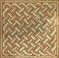 Mosaic Pattern Extraordinary Roman mosaic patterns A Visual Glossary The Ancient Home