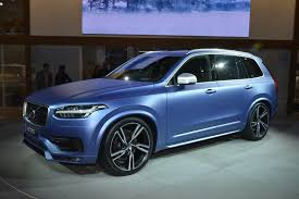 Volvo Xc90 R Design Build With Some Changes From The Previous Model The 2016