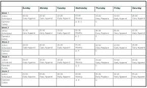 Work Schedule Spreadsheet Template Free Work Schedule Templates For Word And Excel Employee