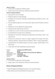 Objective For Engineering Resume Construction Resume Objective