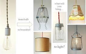 make your own lamp kit great pendant light kit designs inside make your own pendant light