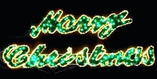 exotic lighted merry sign outdoor light large positive