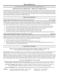 Pharmaceutical Sales Resume Example 98 Images Click Here To