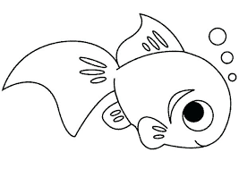 Fish Coloring Pages Printable Printable Fish Coloring Pages For Kids