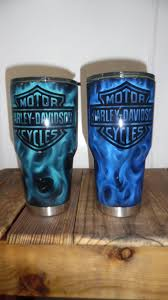 Diy Glass Cup Designs Love The Look Of The Flames Beautiful Technique Tumbler