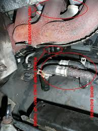 losing coolant rusted pipe taurus car club of america ford click image for larger version heater line 2