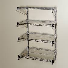 wall mounted wire shelving. 14\ Wall Mounted Wire Shelving