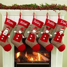how to decorate a christmas stocking. Simple Christmas Christmas Stockings And Ideas To Use Them For Decor Inside How Decorate A Stocking