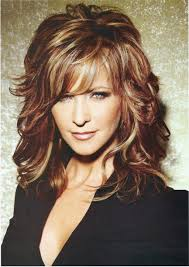 Mid Length Layered Hairstyles For Over 50