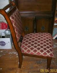 wooden chairs 60 wichita beautiful wooden upholstered chairs 4 burgundy with gold diamond design accent upholstery new condition