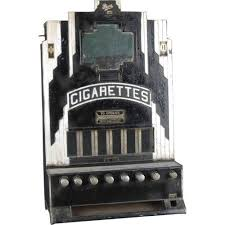 Rowe Cigarette Vending Machine Awesome Art Deco Rowe Cigarette Machine 48 Cent And Has 48 Cent