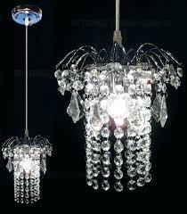 crystal mini pendant light entrance single small crystal pendant lights hanging re crystal lighting kitchen mini