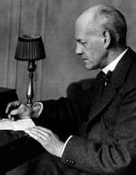 John Galsworthy, circa 1920 | House Divided