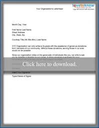 Non Profit Donation Letter Template Samples Of Non Profit Fundraising Letters Lovetoknow