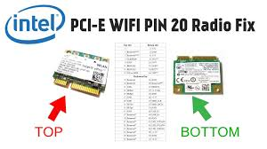 how to fix intel 5100 5300 mini pcie wlan wifi radio on issue how to fix intel 5100 5300 mini pcie wlan wifi radio on issue covering pin 20