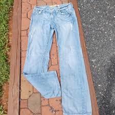Big Star Mens Distressed Pioneer Jeans Size 32 L
