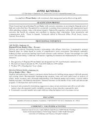 Personal Banker Resume Templates Foodcity Me