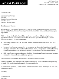 Supervisory Criminal Investigator Cover Letter The Awesome Web
