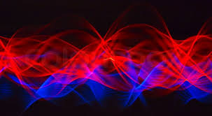 cool blue and red background.  And In Cool Blue And Red Background Colourbox
