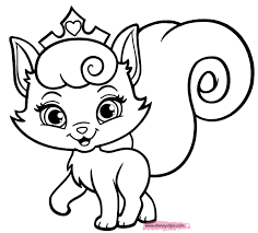 Big Coloring Pages Of Kittens With Kitten Cute Pagaes Printable