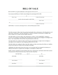 Standard Bill Of Sale For Boat Printable Boat Bill Of Sale Inspirational Blank Open