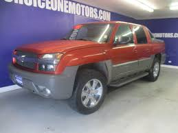 2002 Used Chevrolet Avalanche 4X4 LEATHER LOADED at Choice One ...