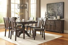 Oval Kitchen Table And Chairs Signature Design By Ashley Trudell 7 Piece Oval Dining Table Set