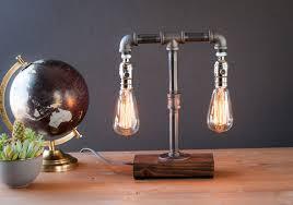 lamp industrial diy edison light bulb bulbs lighting pottery barn chandelier floor walls home design wall