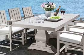 venice table cast aluminum patio furniture