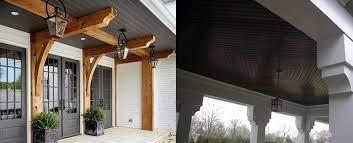 top 70 best porch ceiling ideas