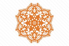 Lace Doily Patterned Mandala Svg Cut File By Creative Fabrica Crafts Creative Fabrica