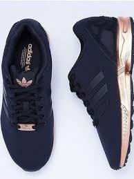 Torsion Adidas Black And Gold Mens Pinterest Adidas Originals Zx Flux Black Copper Rose Gold Torsion Rare Size