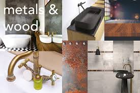 copper coloured bathroom accessories. there has been a lot of early signs suggesting the bold copper colours are being replaced with more muted tones brass, bronze and tarnished metals coloured bathroom accessories