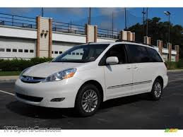 2007 Toyota Sienna XLE Limited AWD in Arctic Frost Pearl White ...
