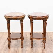 cherry end tables. Furniture:Round Cherry End Table This Pair Of Tiered Tables Are Featured In Solid Wood