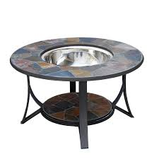 Ordinary Wood Fire Pit Table   Arizona Sands Stainless Steel Wood Burning Fire Pit Table