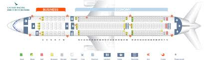 Cathay Pacific Business Class Seating Chart Seat Map Boeing 777 200 Cathay Pacific Best Seats In The Plane