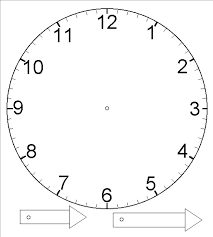 Free Printable Clock Face With Minutes