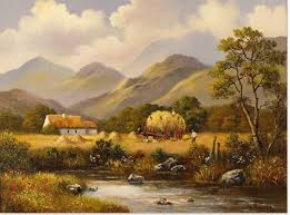 Wendy Reeves   Original Oil Painting on Canvas, Country Scene   Oil  painting on canvas, Cottage art, Oil painting
