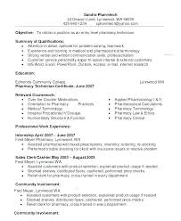 Pharmacy Technician Resume Examples Amazing Pharmacy Assistant Resume Sample Sample Pharmacy Tech Resume Bunch