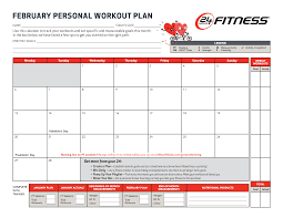 Fitness Plan Chart Fitness Plan Templates Clipart Images Gallery For Free
