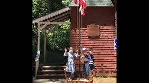 At least we can say the flag was raised! - Alba Schoolhouse | Facebook