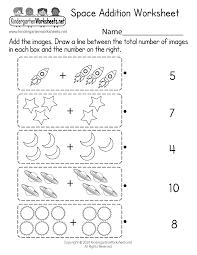 Letter blending + sight words + phonics | reading lessons for kids. Space Addition Worksheet Free Printable Digital Pdf