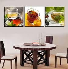dining room wall art amazon. amazon.com: hot sell 3 panels 40 x cm modern wall painting coffee dining room art amazon